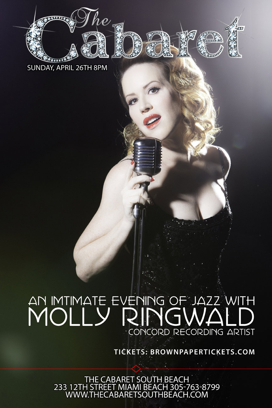 MMolly Ringwald at The Cabaret South Beach