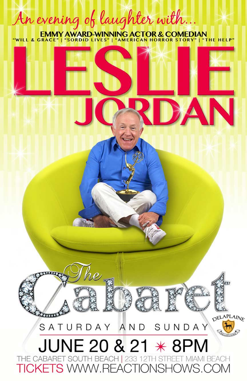 An Evening of Laughter with Leslie Jordan