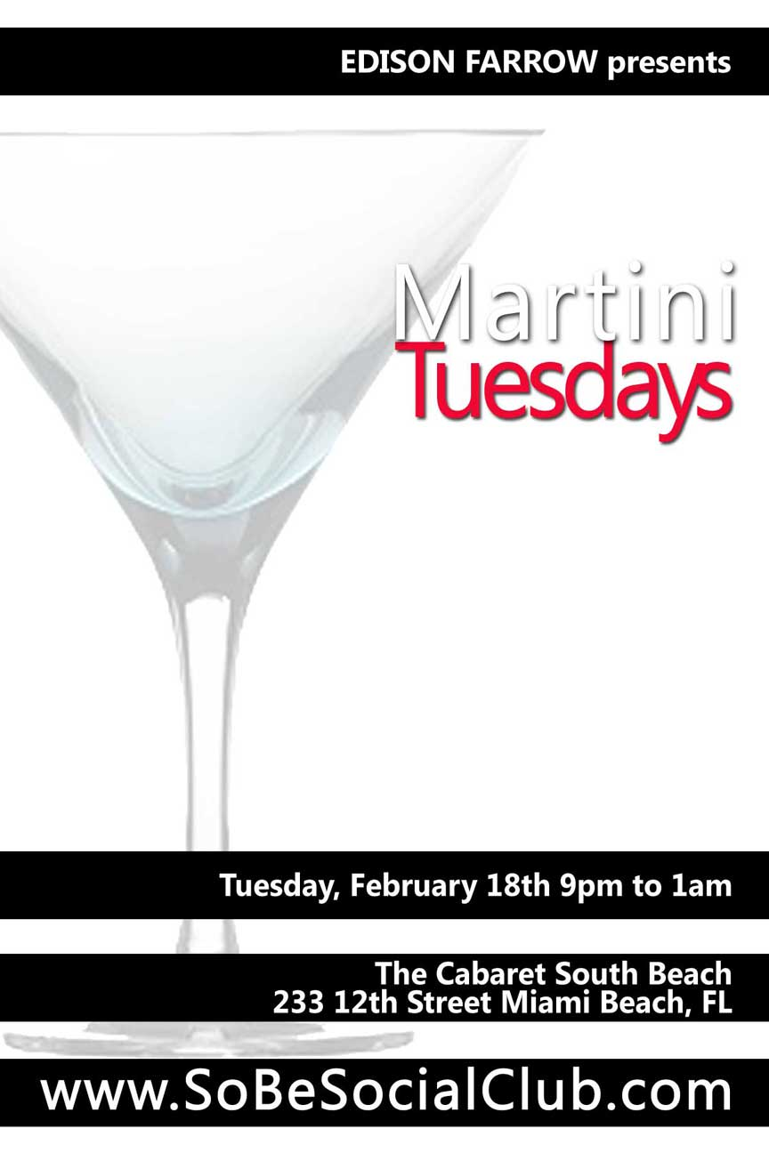 Martini Tuesdays