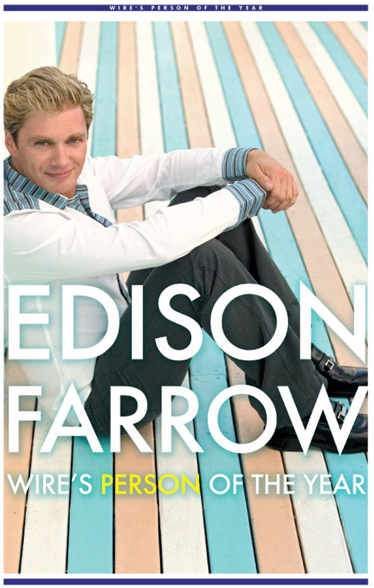 Edison Farrow Wire's Person of the Year